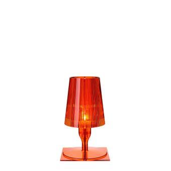 lampe de table take kartell orange achat prix fnac. Black Bedroom Furniture Sets. Home Design Ideas