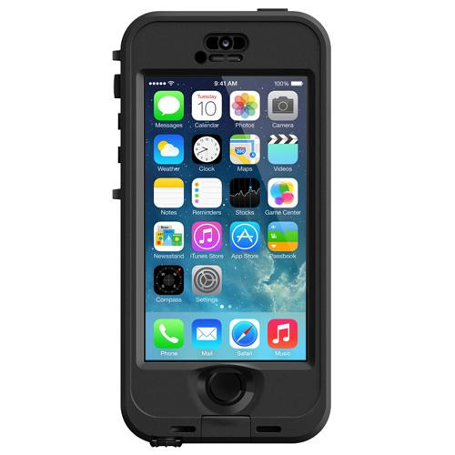 coque tanche lifeproof nuud pour iphone 5s noire etui pour t l phone mobile achat prix. Black Bedroom Furniture Sets. Home Design Ideas