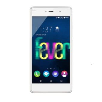 Smartphone Wiko Fever  Go Blanc et Or a w