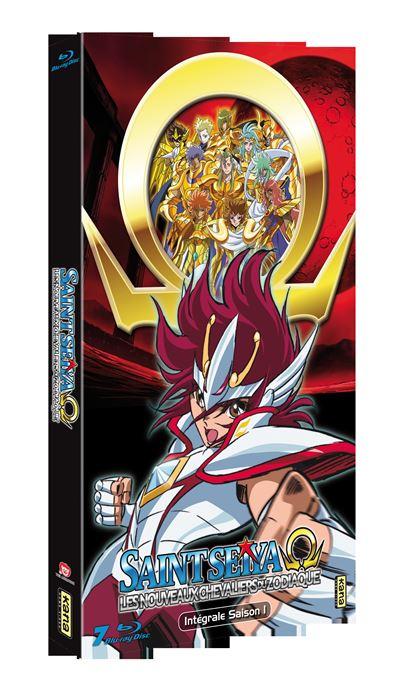Les nouveaux Chevaliers du Zodiaque Saison 1 Coffret Edition limitée Blu-Ray