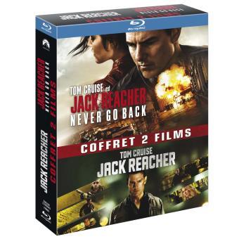 Jack reacher coffret 2 films blu ray blu ray edward zwick christopher mcquarrie tom - Coffret coloriage cars leclerc ...