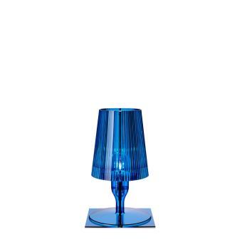 lampe de table take kartell bleue acheter sur. Black Bedroom Furniture Sets. Home Design Ideas