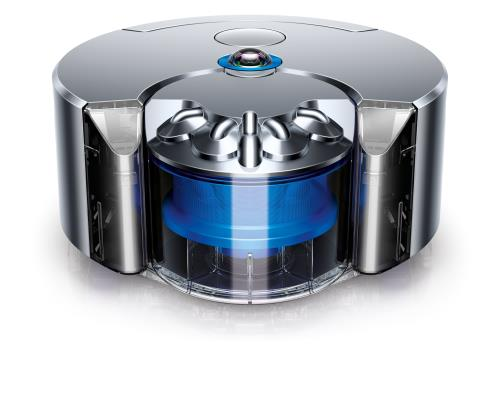 Aspirateur robot Dyson 360 Eye Nickel et bleu