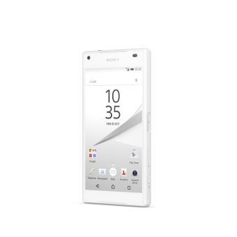 smartphone sony xperia z5 compact 32 go blanc smartphone. Black Bedroom Furniture Sets. Home Design Ideas