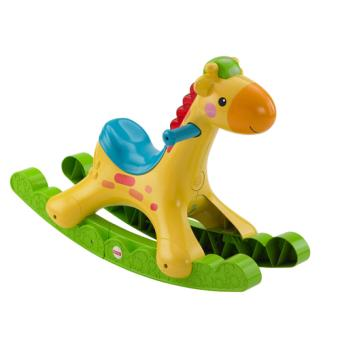 Ma girafe musicale bascule fisher price jeu d 39 veil for Prix d une girafe a poncer