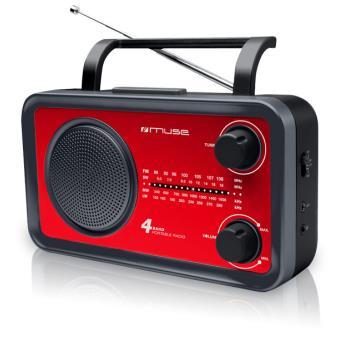 Radio FM MUSE M05 ROUGE