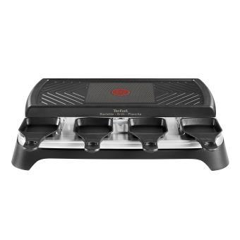 raclette grill plancha 8 coupelles tefal re459812 1100 w noir acheter sur. Black Bedroom Furniture Sets. Home Design Ideas