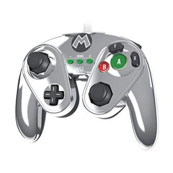 Manette nintendo fight pad pour wii u edition limit e - Comment connecter manette wii a la console ...