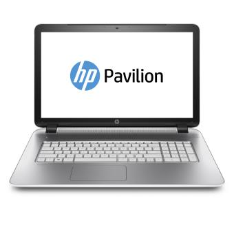 pc portable hp pavilion notebook 17 f222nf 17 3 blanc neige ordinateur portable achat. Black Bedroom Furniture Sets. Home Design Ideas