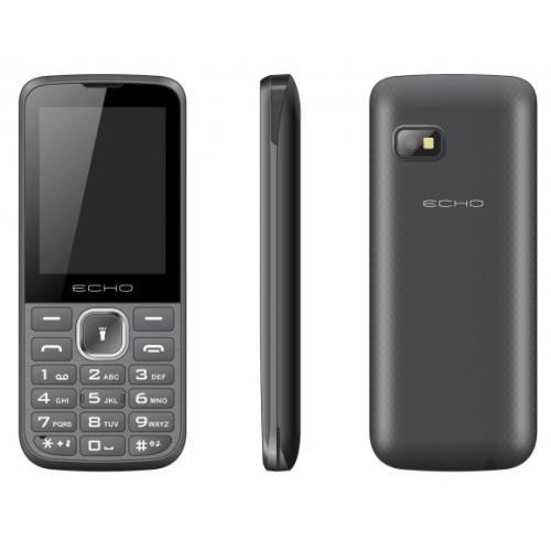 Téléphone mobile Echo First Plus Double SIM Noir