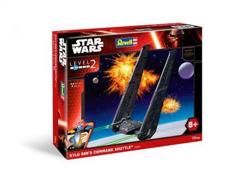 Easy Kit Star Wars - A partir de 8 ans - Nombre important de pièces à assembler : 53 Pièces pré-peintes, à assembler, sans colle, Haut niveau de détail, Pour collectionner et pour jouer. Longueur env. 13,2 cm / hauteur env. 35,6 cm