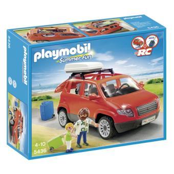 playmobil summer fun 5436 voiture avec coffre de toit playmobil acheter sur. Black Bedroom Furniture Sets. Home Design Ideas