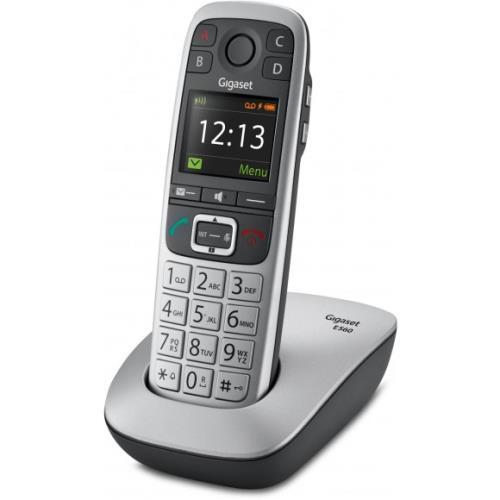 Téléphone fixe sans fil Gigaset E560 Argent