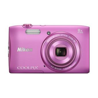 appareil photo compact nikon coolpix s3600 rose appareil. Black Bedroom Furniture Sets. Home Design Ideas