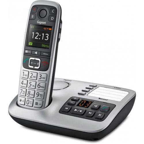 Téléphone fixe sans fil E560 A Argent