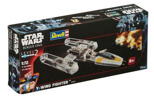 Star Wars 2016 gamme Easy Kit - A partir de 8 ans - Pièces pré-peintes, à assembler, sans colle. A collectionner et à jouer.