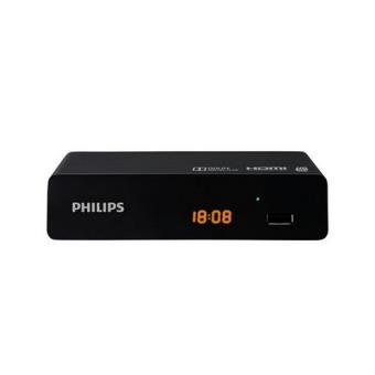 r cepteur philips dtr3000 tnt hd usb adaptateur tnt achat prix fnac. Black Bedroom Furniture Sets. Home Design Ideas