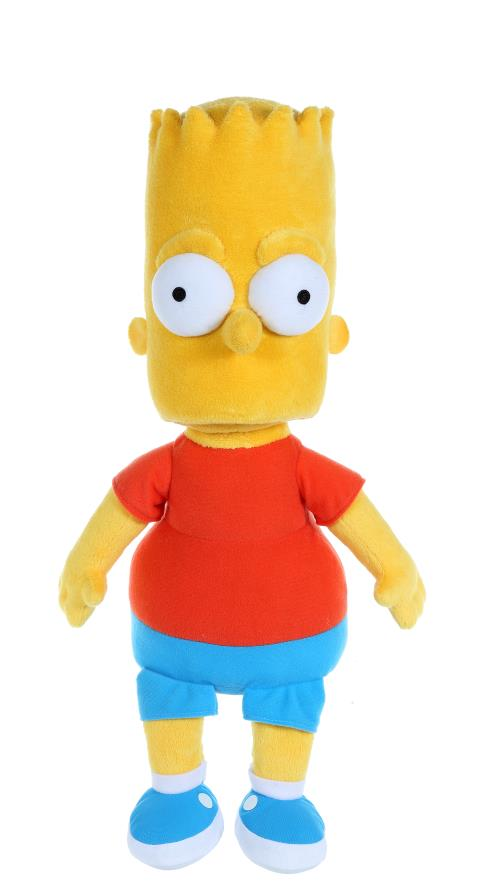 Peluche de 40 cm a l´effigie de Bart Simpson.