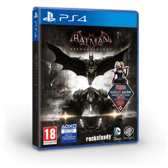 batman arkham knight ps4 sur playstation 4 jeux vid o achat prix fnac. Black Bedroom Furniture Sets. Home Design Ideas