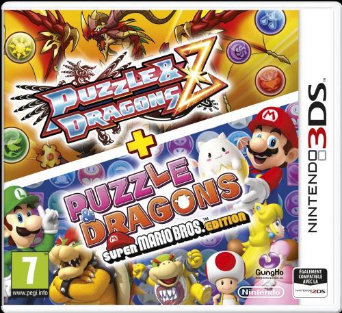 Puzzle et Dragons Z + Puzzle et Dragons Edition Super Mario 3DS - Nintendo 3DS