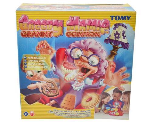 Le but du jeu : être le premier à dérober un cookie de chaque sans réveiller Mamie ! De 2 à 4 joueurs.