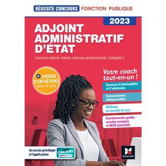 Adjoint administratif cat gorie c broch collectif for Adjoint administratif