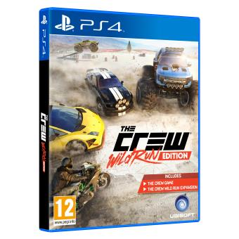 the crew wild run edition ps4 sur playstation 4 jeux. Black Bedroom Furniture Sets. Home Design Ideas