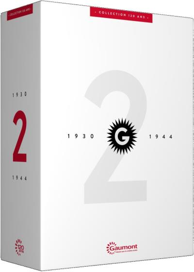 Coffret 120 ans Gaumont Volume 2 : 1930 - 1944 DVD