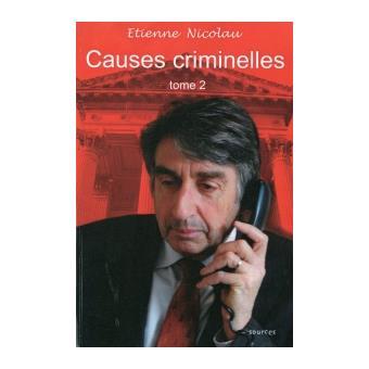 Causes criminelles