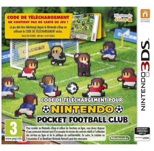 Nintendo Pocket Football Club - Nintendo 3DS