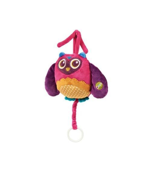 Fnac.com : Doudou carillon Hibou Oops Happy Melody - Jeu d´éveil. Achat et vente de jouets, jeux de société, produits de puériculture. Découvrez les Univers Playmobil, Légo, FisherPrice, Vtech ainsi que les grandes marques de puériculture : Chicco, Bébé C