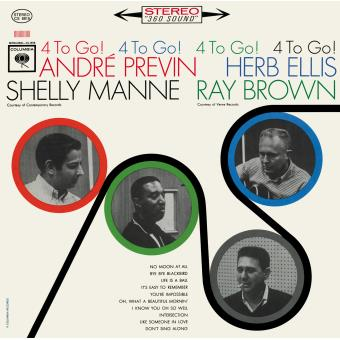 André Previn - Ray Brown - 4 To Go!