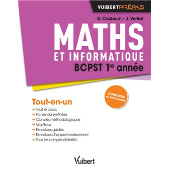 Maths BCPST 1ère année