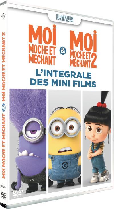 Moi moche et méchant & Moi moche et méchant 2 - l?intégrale des mini films 2 DVD
