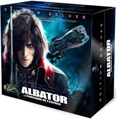 Albator, Corsaire de l´ Espace Blu-Ray Combo 3D+ 2D Edition deluxe limitée