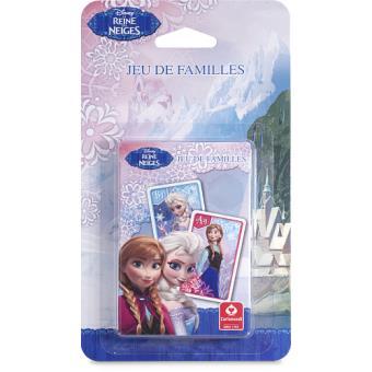 jeu de famille cartamundi frozen la reine des neiges