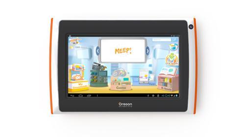 tablette tactile enfant oregon scientific meep x2 orange. Black Bedroom Furniture Sets. Home Design Ideas