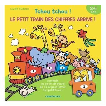 Tchou tchou le petit train des chiffres arrive broch znu achat livre - Tchou tchou le train ...