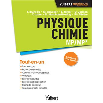 Physique chimie MP-MP*