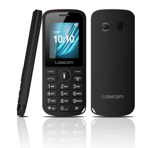 Téléphone mobile Logicom L-195 Noir