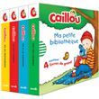 Caillou - Caillou, Coffret avec 4 livres