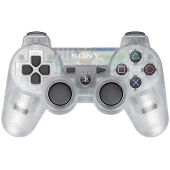 manette sony dualshock ps3 transparente accessoire console de jeux achat prix fnac. Black Bedroom Furniture Sets. Home Design Ideas