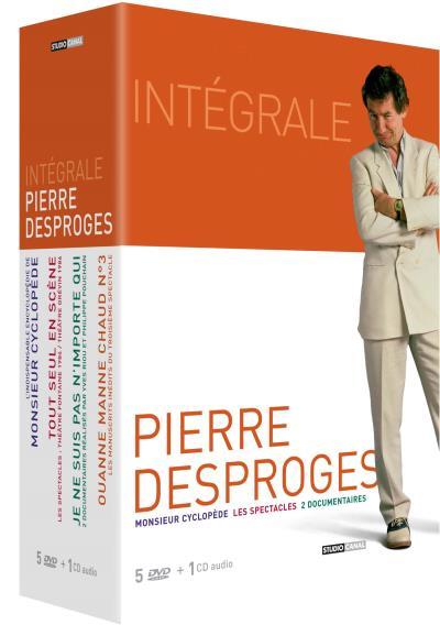 Coffret Pierre Desproges - 5 DVD