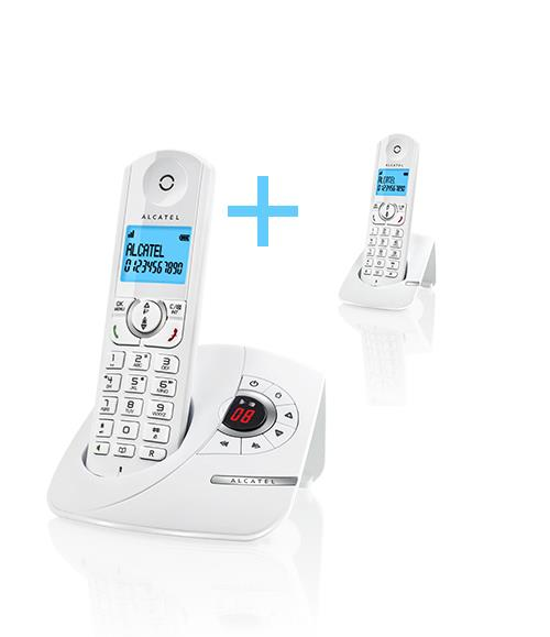 Alcatel F380 Voice Duo Blanc
