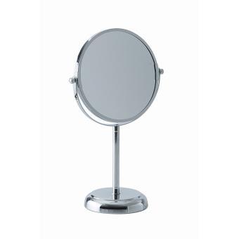 Miroir grossissant okoia sur pied inox x5 achat prix for Miroir sur pied soldes