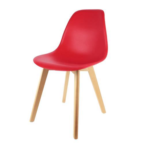 Laissez-vous séduire par le design épuré et résolument tendance de cette chaise scandinave! Son assise ultra confortable ainsi que ses 4 pieds en bois brut vont vous faire craquer!