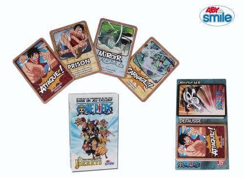 Dans ce jeu, les personnages phares de One Piece s´affrontent pour amasser le plus de berrys possible ! Utilisez vos cartes actions, déjouez les attaques, faites main basse sur les trésors amassés. Attention les pouvoirs des personnages vont rendre la par