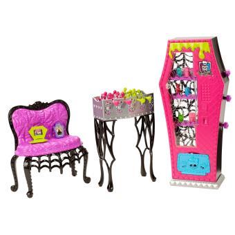 Salle de jeux monster high accessoire poup e achat for Monster high accessoires de chambre