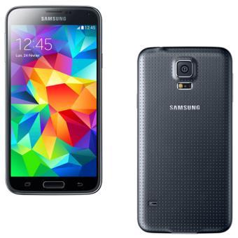 smartphone samsung galaxy s5 g900f 16 go noir. Black Bedroom Furniture Sets. Home Design Ideas