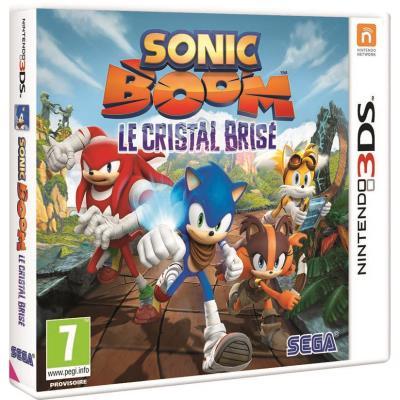 Sonic Boom Le Cristal Brisé 3DS - Nintendo 3DS